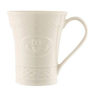 Belleek Claddagh Mug