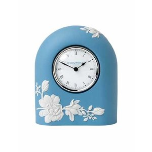 Wedgwood Magnolia Blossom Mantle Clock (13cm)