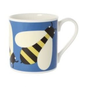 Orla Kiely Busy Bee Blue Mug