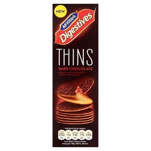 McVitie's McVities Digestives Thins Dark Chocolate
