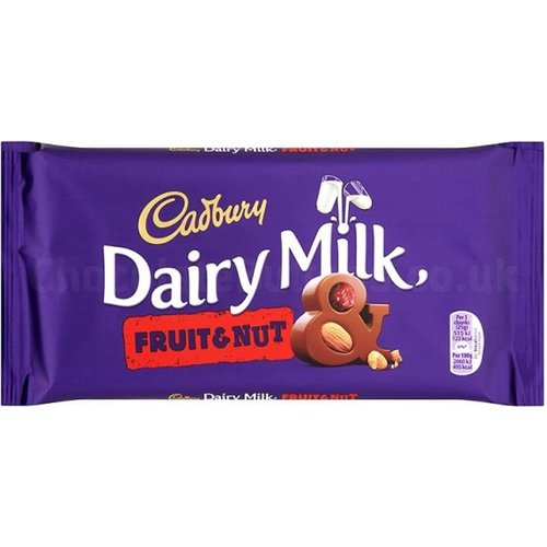 Cadbury Cadbury Dairy Milk Fruit & Nut  - 200g