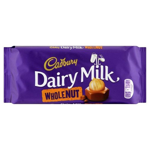 Cadbury Cadbury Dairy Milk Whole Nut - 120g
