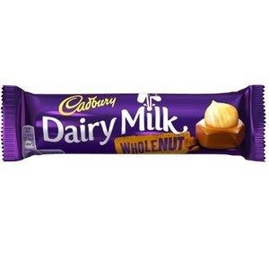 Cadbury Cadbury Dairy Milk Whole Nut - 45g