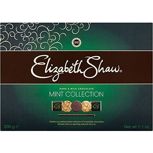 Elizabeth Shaw Dark and Milk Chocolate Mint Collection