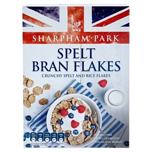 Spelt Bran Flakes