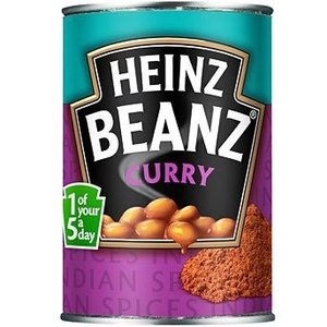 Heinz Heinz Curry Baked Curry Beans