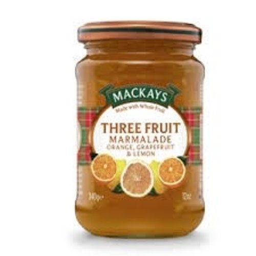 Mackays Three Fruit Marmalade Orange, Grapefruit, & Lemon