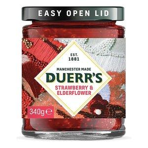 Duerr's Strawberry and Elderflower Jam