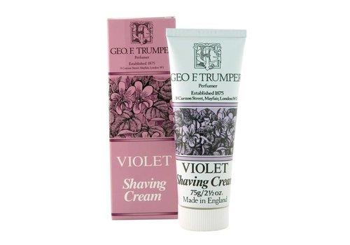 Geo F. Trumper Shaving Cream Tube - Violet