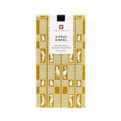 Woods of Windsor Citrus & Basil Sachet Perfume