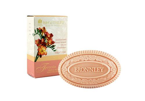 Bronnley Bronnley Freesia triple milled soap 100g bar