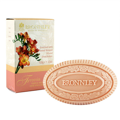 Bronnley Bronnley Freesia triple milled soap 100g bar