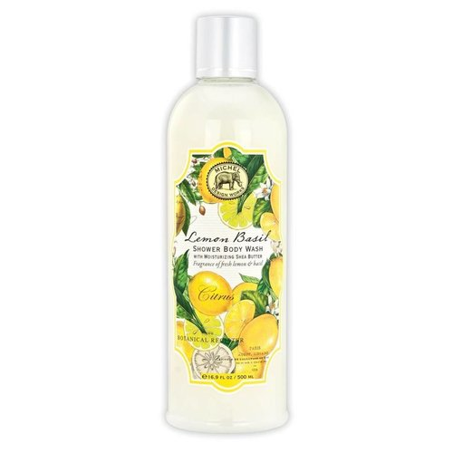 Michel Design Works Michel Lemon Basil Shower Body Wash