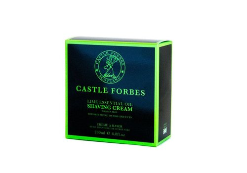 Castle Forbes Castle Forbes Lime Essential Oil Shaving Cream