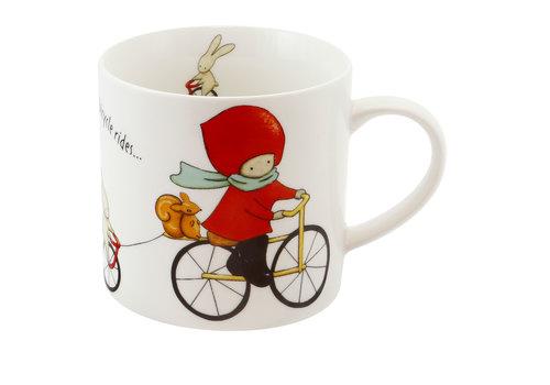 Santoro London Poppi Mug Large - Bike Rides