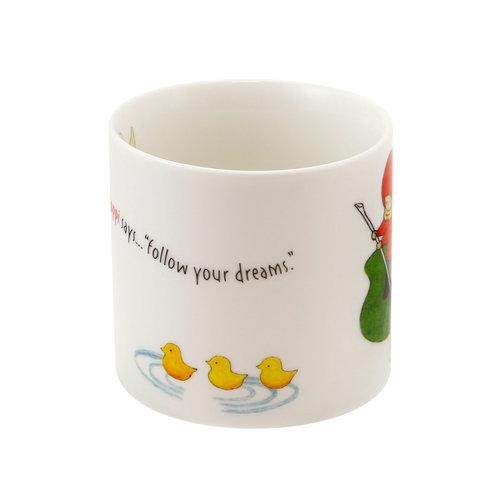 Santoro London Poppi Mug Small - Follow Your Dreams