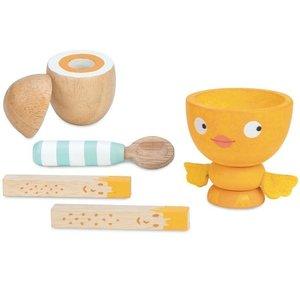 Le Toy Van Le Toy Van Wooden Egg Cup Set