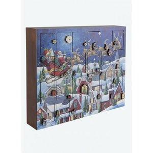 Musical Santa's Sleigh Advent Calendar