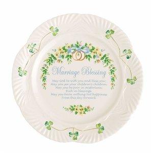 Belleek Marriage Plate