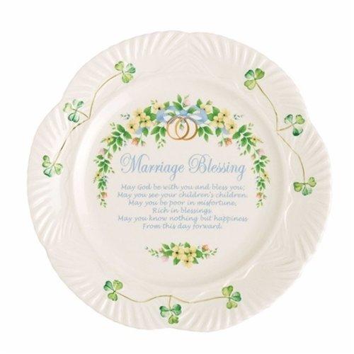 Belleek Belleek Marriage Plate