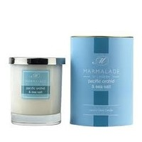 Pacific Orchid and Sea Salt Glass Candle