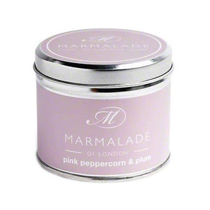 Marmalade of London Pink Peppercorn and Plum Tin Candle