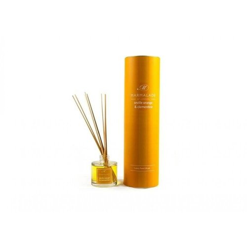 Marmalade of London Seville Orange and Clementine Luxury Reed Diffuser