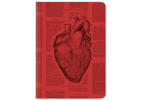 Anatomical Heart Hardcover Journal - Dot Grid