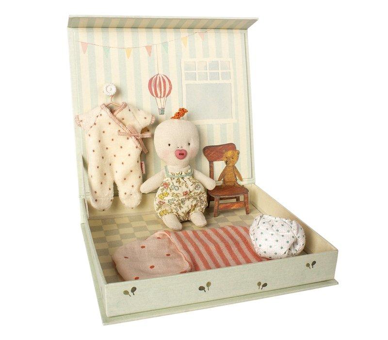 Maileg Ginger Baby Room Play Set