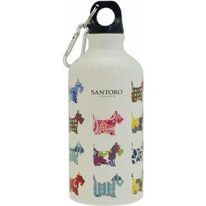 Santoro London Santoro Water Bottle Scottie Dog