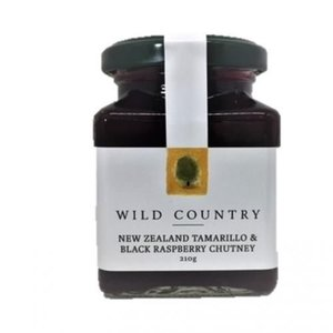 Wild Country New Zealand Tamarillo & Black Rasp Chutney