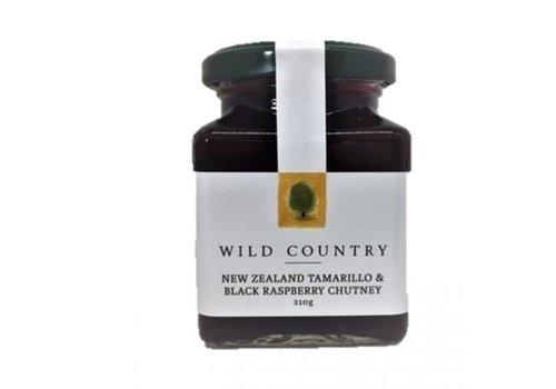 Wild Country New Zealand Tamarillo & Black Rasp Chutney