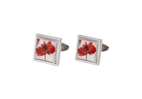 Imperial War Museums Imperial War Museum Poppy cufflinks