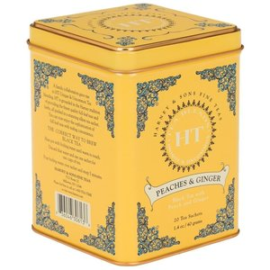 Harney & Sons Harney & Sons Peaches & Ginger 20s Tin