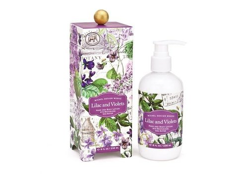 Michel Design Works Lilac And Violets Hand And Body Lotion