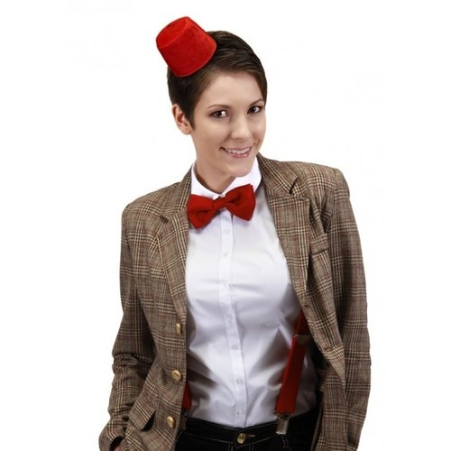 Mini Fez Headband & Bow Tie Kit