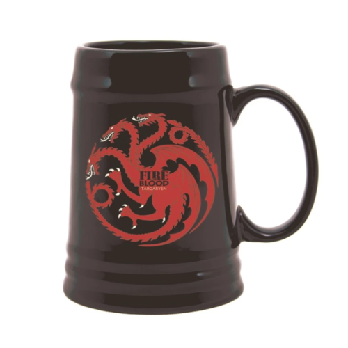 Game of Thrones Targaryen Ceramic Stein