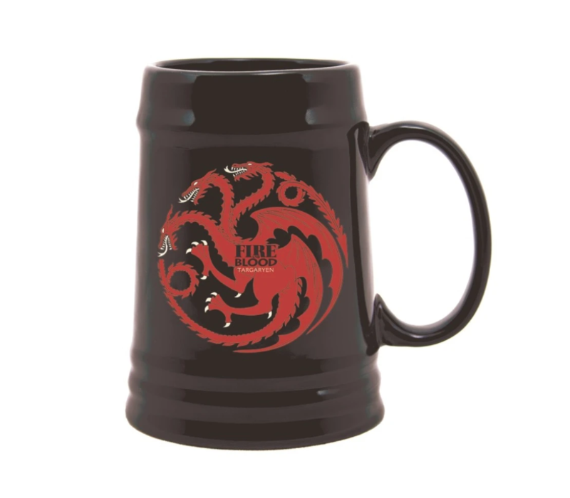 Game of Thrones - Targaryen Ceramic Stein