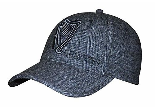 Guinness Baseball Hat Tweed Vintage Harp