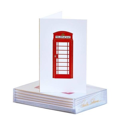 Paula Skene Paula Skene London Phone Booth Mini Note Boxed Cards