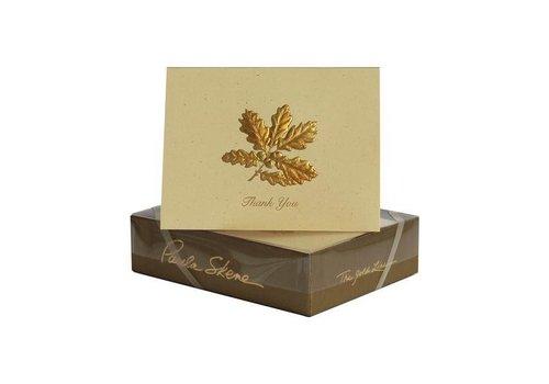 Paula Skene Paula Skene Mini Oakcluster Gold/Sunset Boxed Cards