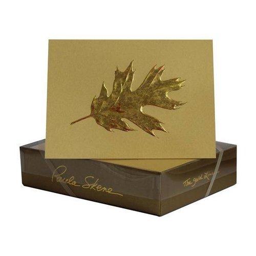 Paula Skene Paula Skene Oak Leaf- Sunset/Gold Boxed Cards