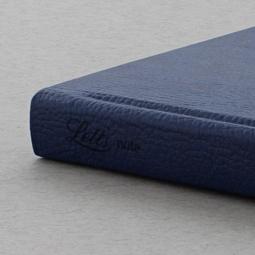Letts of London Origins Book Notebook Navy