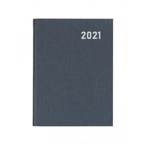Letts of London Principal Pocket Week to View w/Pencil Grey 2021