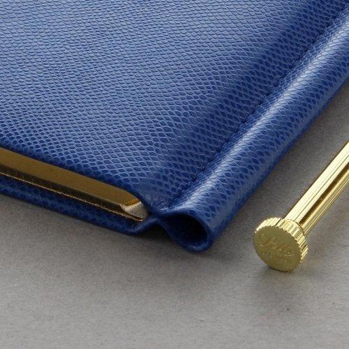 Letts of London Legacy Pocket Address Book Blue