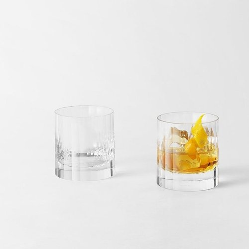 Richard Brendon Richard Brendon Fluted Double Old Fashioned
