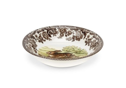 Spode Spode Woodland Small Cereal Bowl Rabbit