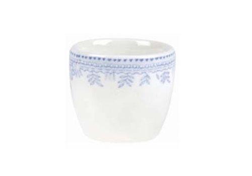 Burleigh Pottery Asiatic Pheasants Blue Egg Tot