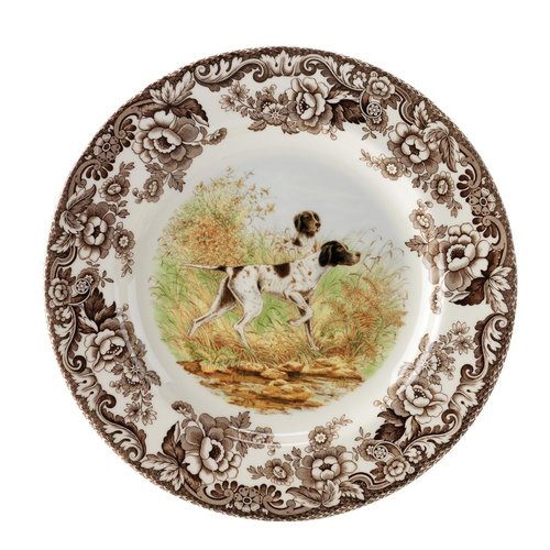 Spode Spode Woodland 20cm Salad Plate Pointer