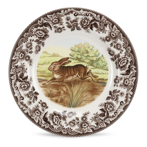 Spode Spode Woodland 27cm Dinner Plate Rabbit